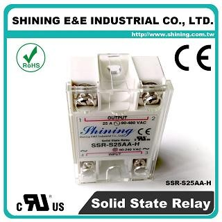 SSR-S25AA-H AC to AC 25A 480VAC Single Phase Solid State Relay