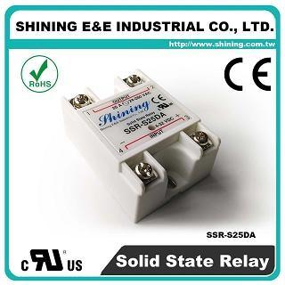 SSR-S25DA DC to AC 25A 280VAC Single Phase Solid State Relay - SSR-S25DA DC to AC 25A 280VAC SSR