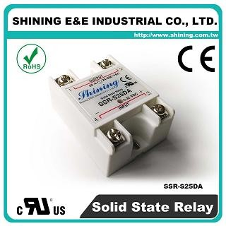 SSR-S25DA DC to AC 25A 280VAC Single Phase Solid State Relay