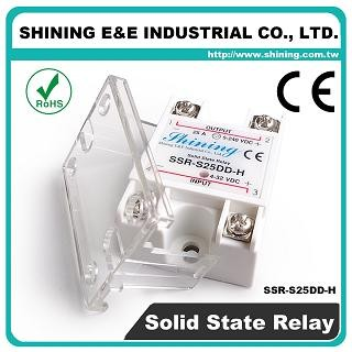 SSR-S25DD-H DC to DC 25A 120VDC Single Phase Solid State Relay