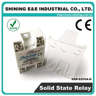 SSR-S25VA-H VR to AC 25A 480VAC Single Phase Solid State Relay