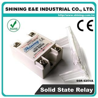 SSR-S25VA VR to AC 25A 280VAC Single Phase Solid State Relay