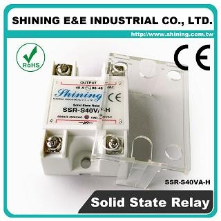 SSR-S40VA-H VR to AC 40A 480VAC Single Phase Solid State Relay