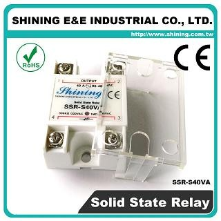 SSR-S40VA VR to AC 40A 280VAC Single Phase Solid State Relay