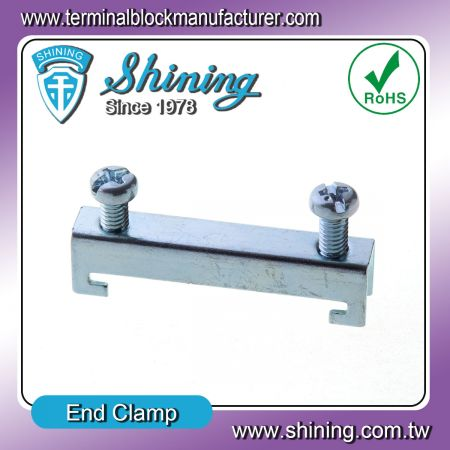 鐵擋片、煞車片 (TA-002) - End Clamp (TA-002)