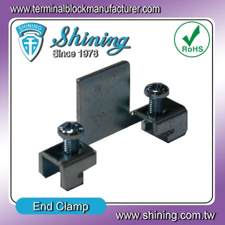 鐵擋片、煞車片 (TA-002H) - End Clamp (TA-002H)