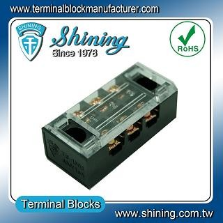 TB-1503 Panel Mounted Fixed Barrier 15A 3 Pole Terminal Block - TB-1503 Fixed Barrier Terminal Blocks