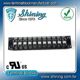 TB-31511CP Fixed Type 300V 15A 11 Position Barrier Terminal Strip - TB-31511CP Fixed Barrier Terminal Strips