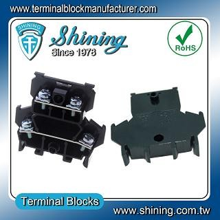 TD-025 Din Rail Mounted 25A Double Layers Terminal Block - TD-025 Double Layers Terminal Block