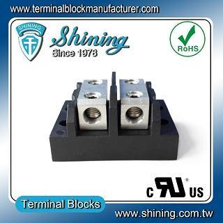 TGP-050-02BHH 600V 50A 2 Way Power Splicer Terminal Block - TGP-050-02BHH Power Splicer Terminal Block