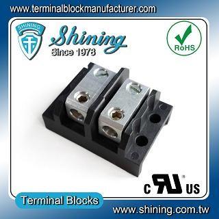 Blok Terminal Splicer TGP-050-02BHS 600V 50A 2 Way - Blok Terminal Splicer TGP-050-02BHS