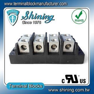 TGP-050-04BHH 600V 50A 4 Way Power Splicer Terminal Block - TGP-050-04BHH Power Splicer Terminal Block