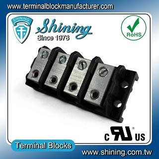 TGP-050-04BHS 600V 50A 4 Way Power Splicer Terminal Block - Blok Terminal Splicer TGP-050-04BHS