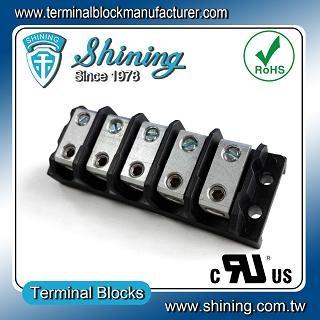 Blok Terminal Splicer 5 Way TGP-050-05BHS 600V 50A - Blok Terminal Splicer Power TGP-050-05BHS