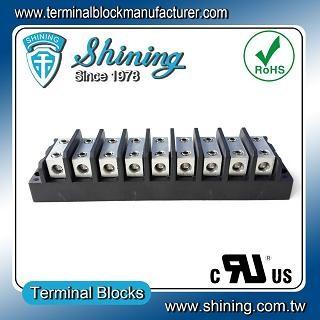 TGP-050-09BHH 600V 50A 9 Way Power Splicer Terminal Block - TGP-050-09BHH Power Splicer Terminal Block