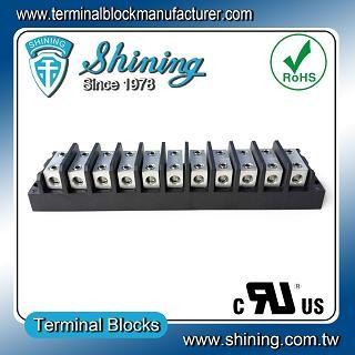 TGP-050-11BHH 600V 50A 11 Way Power Splicer Terminal Block - TGP-050-11BHH Power Splicer Terminal Block