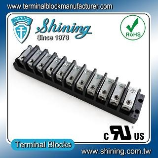 TGP-050-11BHS 600V 50A 11 Way Power Splicer Terminal Block - Blok Terminal Splicer Kuasa TGP-050-11BHS
