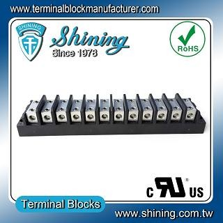 TGP-050-12BHH 600V 50A 12 Way Power Splicer Terminal Block - TGP-050-12BHH Power Splicer Terminal Block