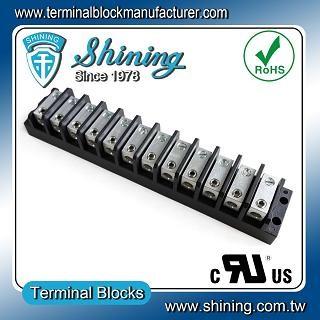 TGP-050-12BHS 600V 50A 12 Way Power Splicer Terminal Block - Blok Terminal Splicer Kuasa TGP-050-12BHS