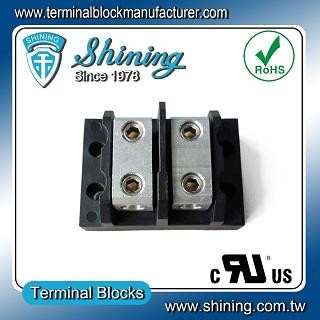 TGP-085-02BHH 600V 85A Blok Terminal Power Splicer 2 Way - Blok Terminal Splicer Kuasa TGP-085-02BHH