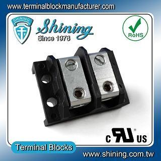 Blok Terminal Splicer TGP-085-02BHS 600V 85A 2 Way - Blok Terminal Splicer TGP-085-02BHS