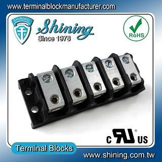 TGP-085-05BHS 600V 85A 5 Blok Terminal Splicer Power Way - Blok Terminal Splicer TGP-085-05BHS