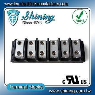TGP-085-06BHH 600V 85A 6 Way Power Splicer Terminal Block - Blok Terminal Splicer TGP-085-06BHH