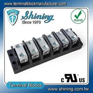 TGP-085-06BSS 600V 85A 6 Way Power Splicer Terminal Block - TGP-085-06BSS Power Splicer Terminal Block