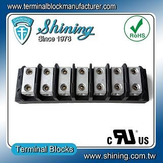 TGP-085-07BHH 600V 85A 7 Way Power Splicer Terminal Block - Blok Terminal Splicer TGP-085-07BHH