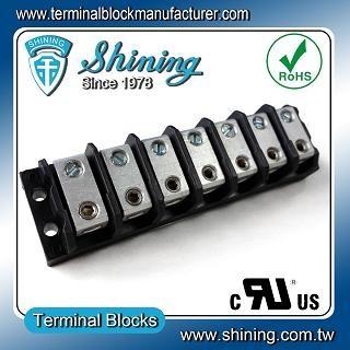 TGP-085-07BHS 600V 85A 7 Blok Terminal Splicer Power Way - Blok Terminal Splicer TGP-085-07BHS