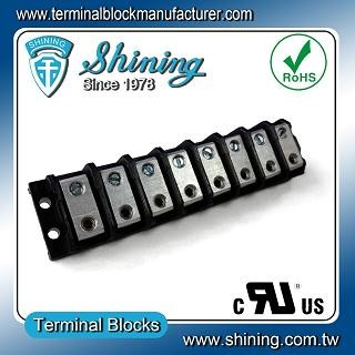TGP-085-08BHS 600V 85A 8 Blok Terminal Splicer Power Way - Blok Terminal Splicer TGP-085-08BHS