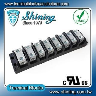 TGP-085-08BSS 600V 85A 8 Way Power Splicer Terminal Block - TGP-085-08BSS Power Splicer Terminal Block