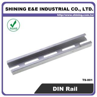 Guida DIN in alluminio da 25 mm (TS-001)
