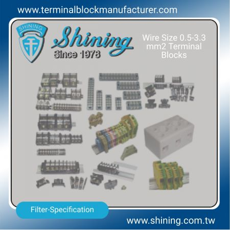 0.5-3.3 mm2 Terminal Blocks - 0.5-3.3 mm2 Terminal Blocks|Solid State Relay|Fuse Holder|Insulators -SHINING E&E