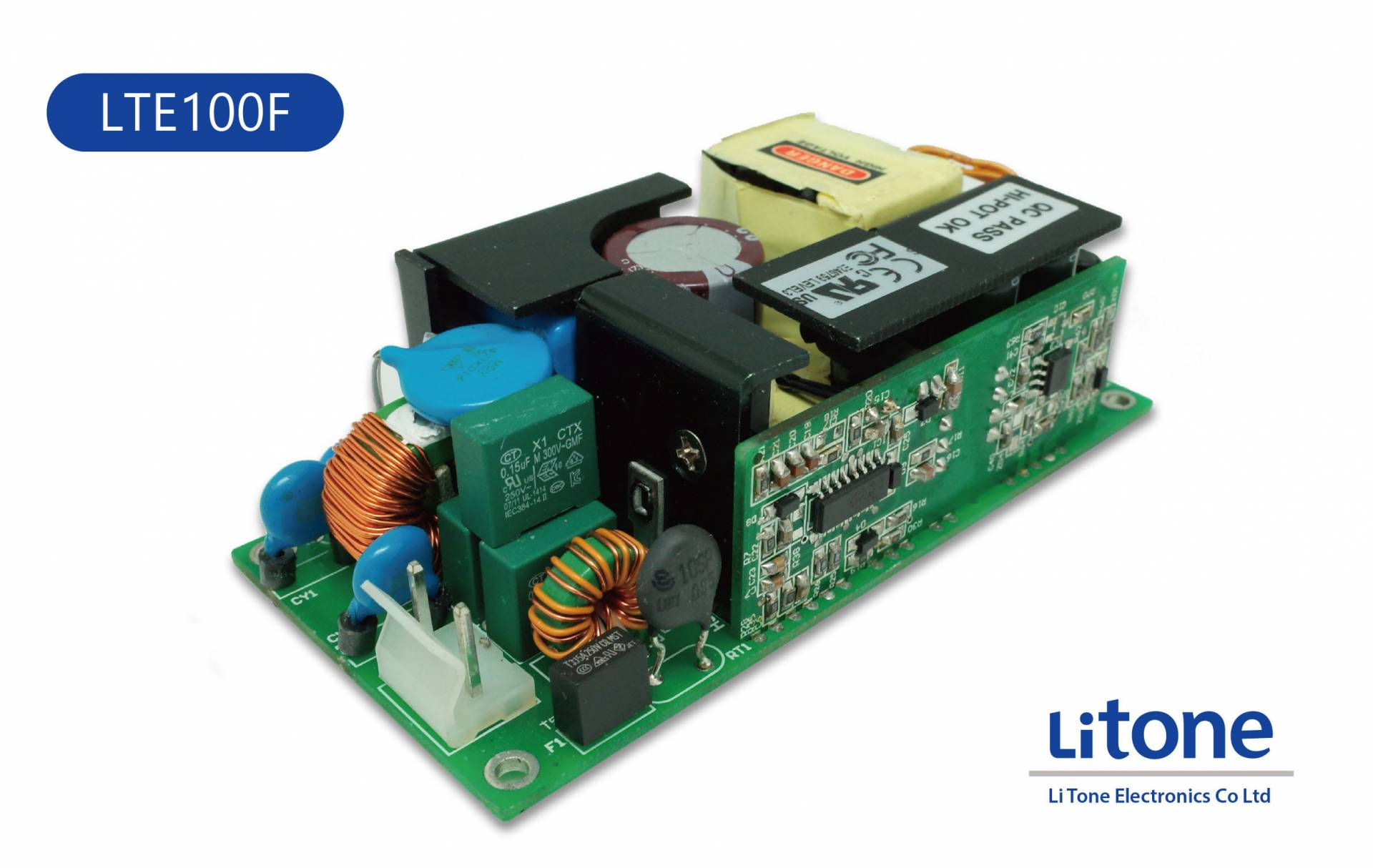 100W AC to DC Open Frame Power Supply