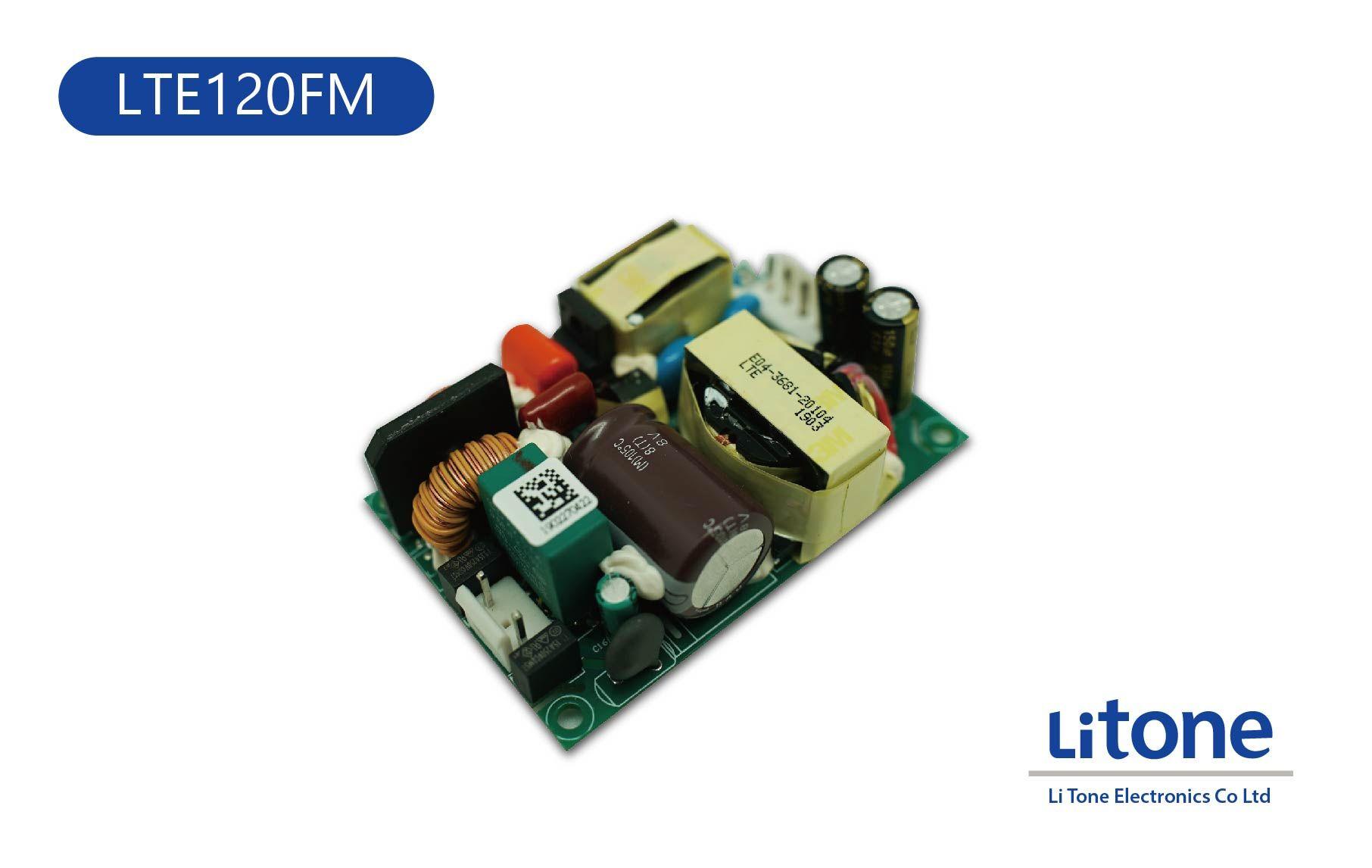 120W 単出力スイッチング電源(オープンフレーム)