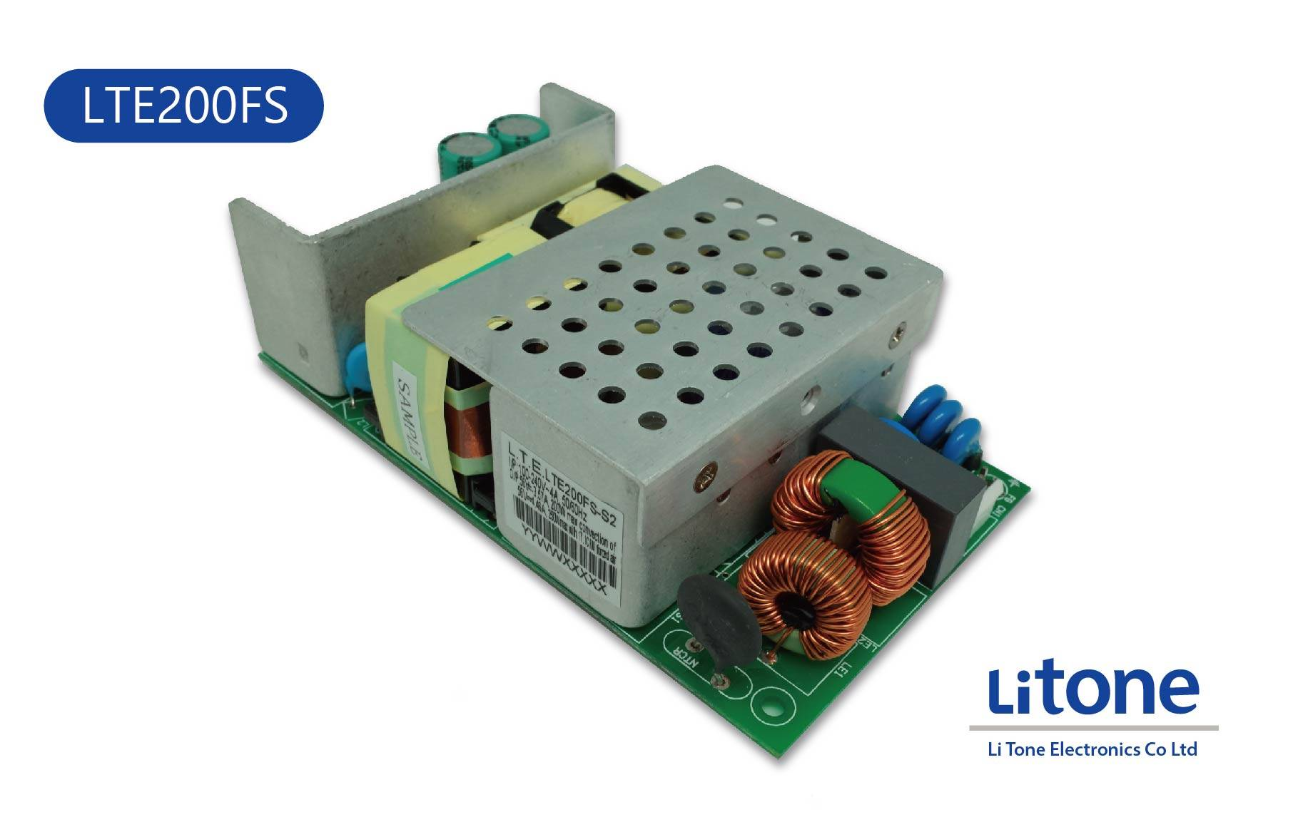 200W AC to DC Open Frame Power Supply