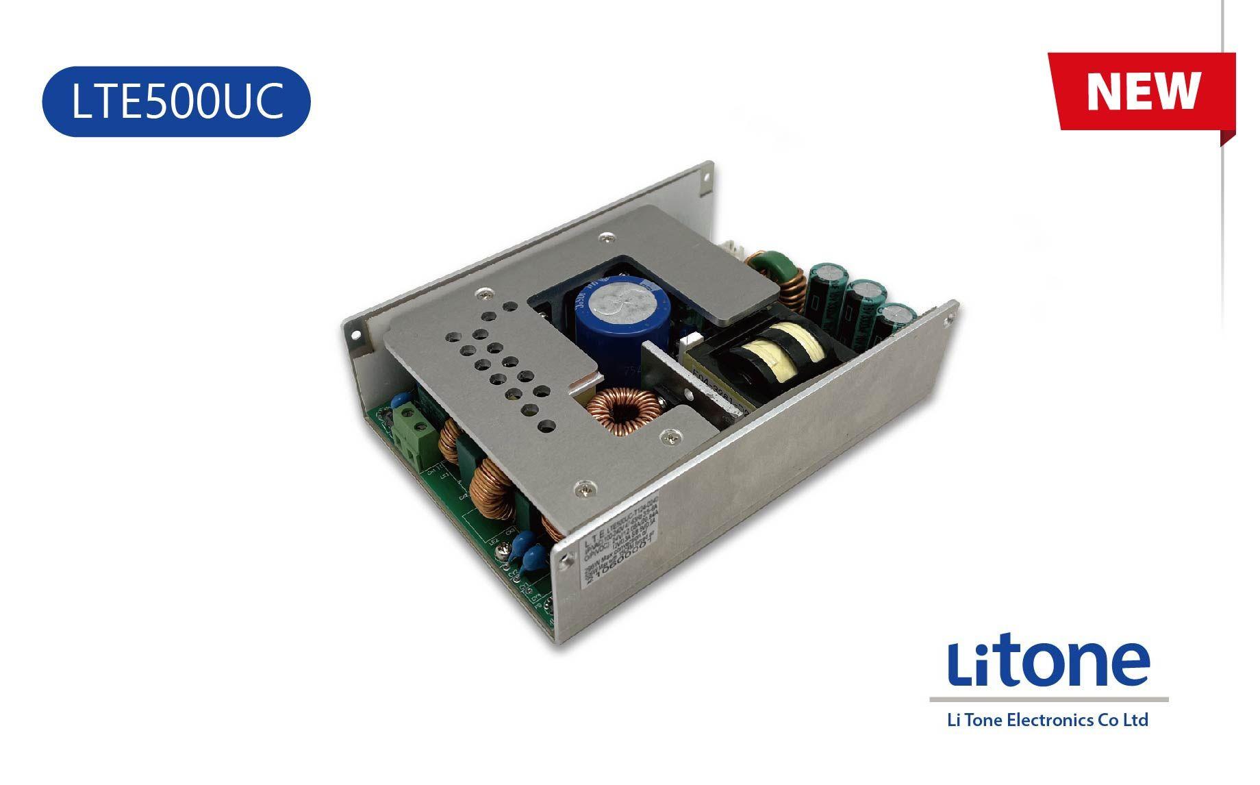 500W AC to DC U Channel Power Supply