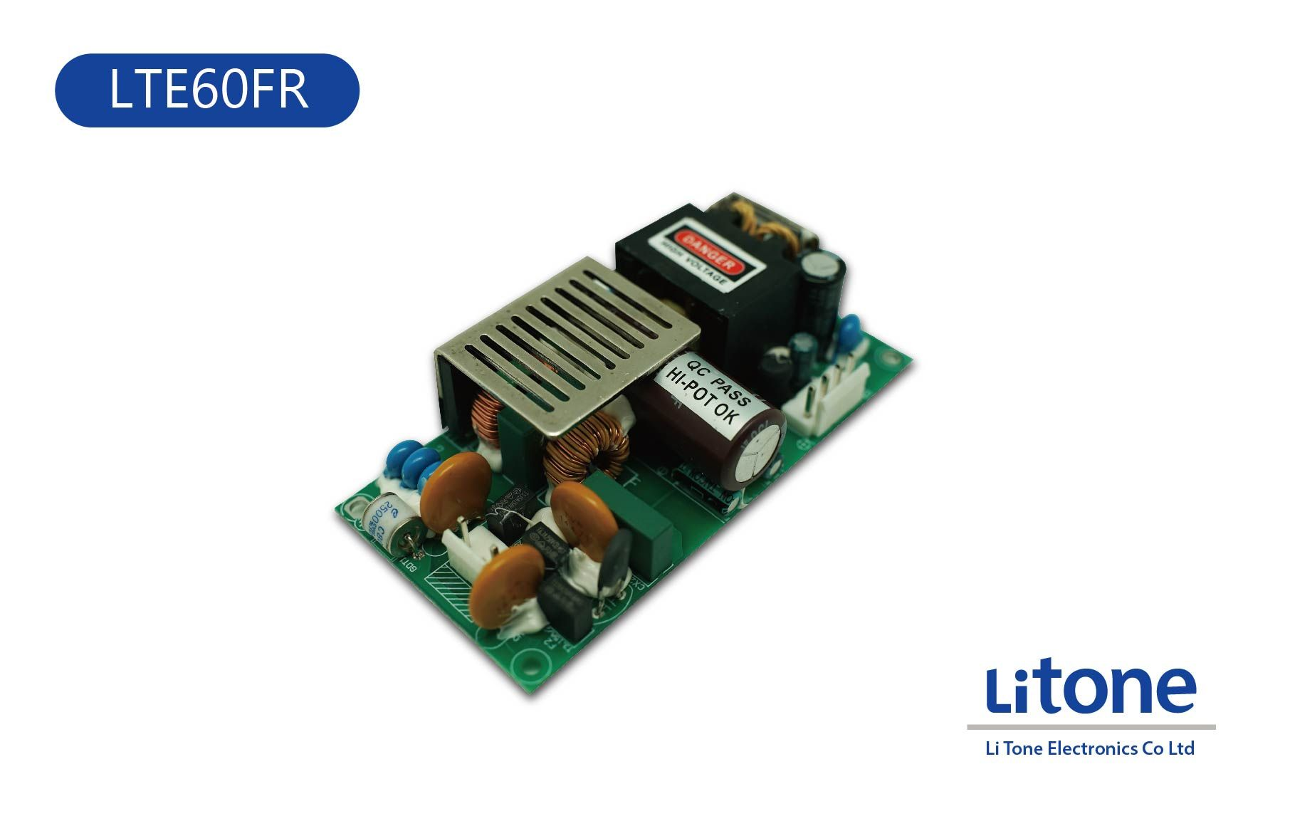 60W AC to DC Open Frame Power Supply