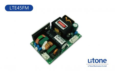 LTE45FM Series AC-DC Open Frame Power Supplies - 45W AC DC Open Frame Power Supplies