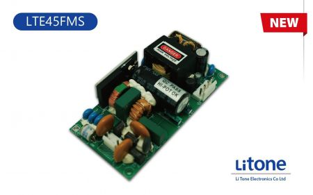 LTE45FMS Series AC-DC Open Frame Power Supplies - 45W AC DC Open Frame Power Supplies