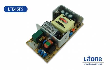 LTE45FS Series AC-DC Open Frame Power Supplies - 45W AC DC Open Frame Power Supplies