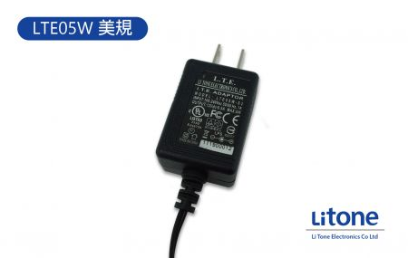 5W AC/DC Wall-Mount Adapter, Efficiency Level V