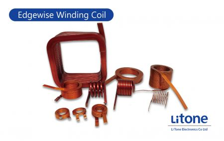 Edgewise Winding Coil