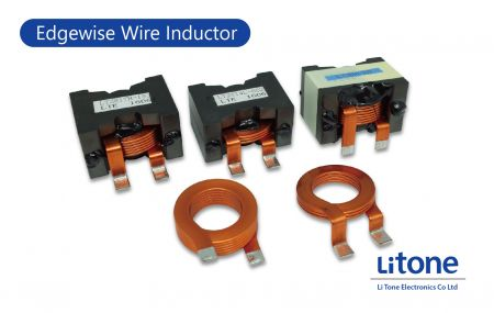 Inductor de alambre Edgewise - Inductor de alta corriente con cable plano en tipo PQ