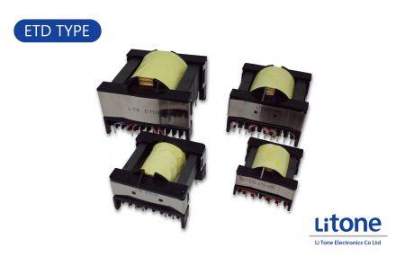 Leistungstransformator vom Typ ETD - Transformator vom Typ ETD