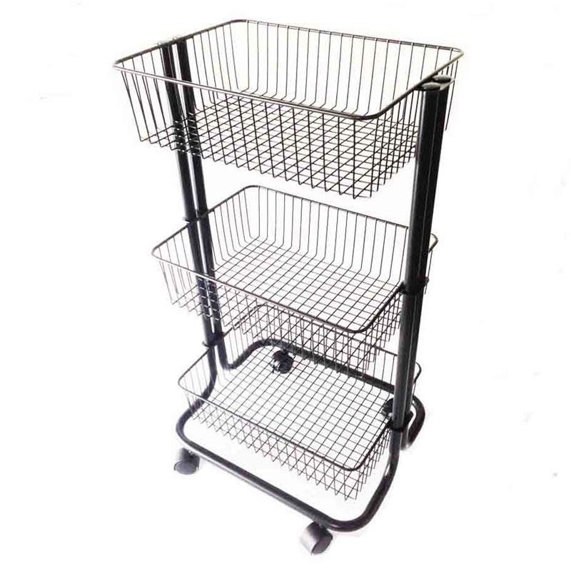 3 Tier Rolling Storage Cart