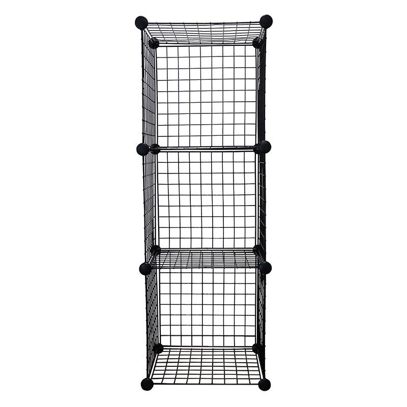 Wire Cube Storage Organizer, Black