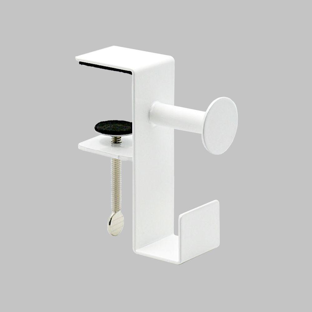 Desk Gaming Headphone Stand Holder,White