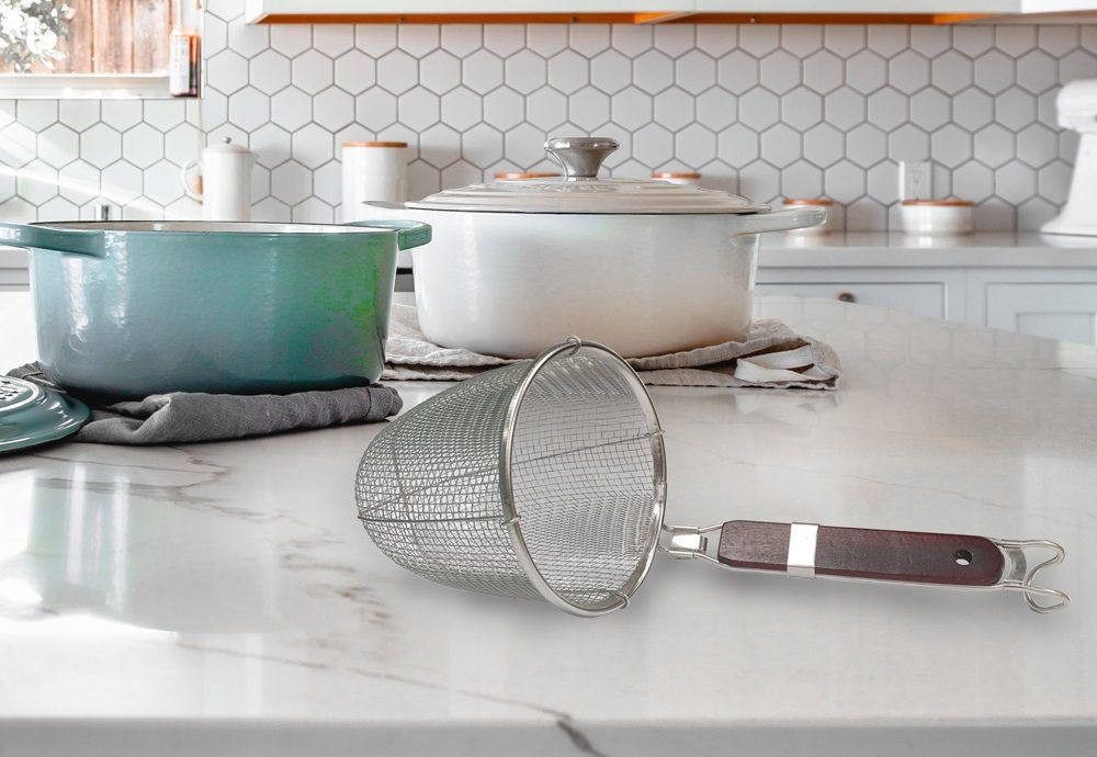 Noodle Pasta Strainer Basket for Kitchen and Restaurant